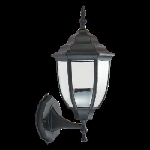 Beleuchtungonline.de Klassische Außenlampe Schwarz - Tijuana - E27