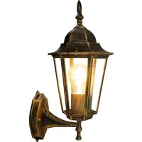 Beleuchtungonline.de Klassische Außenleuchte Kupfer - Oaxaca - E27