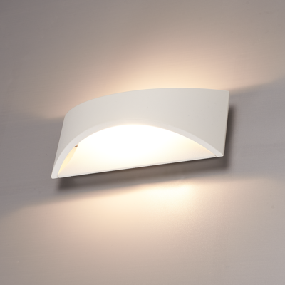 LED Wandleuchte Beidseitig - Weiß  - 3000K -  6W - IP54