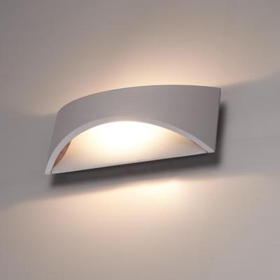 LED Wandleuchte Beidseitig - Grau  - 3000K -  6W - IP54
