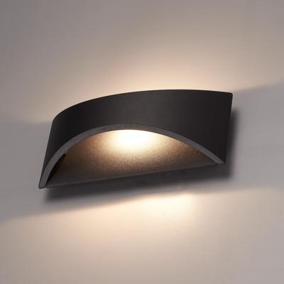 LED Wandleuchte Beidseitig - Schwarz  - 3000K -  6W - IP54