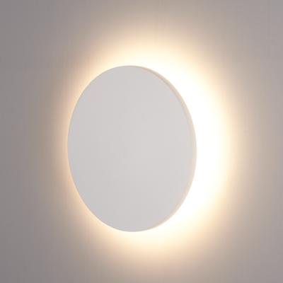 LED Wandleuchte Weiß XL Rund - 3000K -  9W - IP54