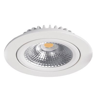 LED Einbaustrahler Weiß - 5W – IP42 – 2700K - Verstellbar