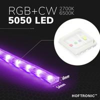 Beleuchtungonline.de LED Strip RGB 10M - Plug & Play - IP65 - Dimmbar