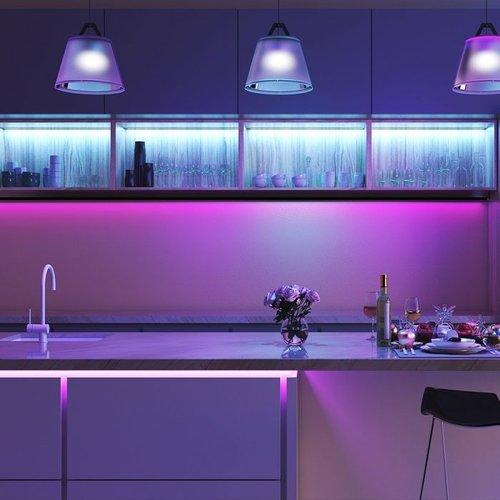 Beleuchtungonline.de LED Strip RGB 5M - Plug & Play - IP65 - Dimmbar