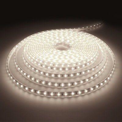 LED Strip 10M - Cool 6000K - Plug & Play - IP65 - Dimmbar