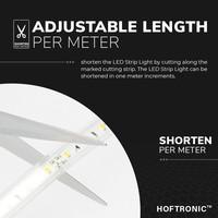 Beleuchtungonline.de LED Strip 2M - Cool 6000K - Plug & Play - IP65 - Dimmbar