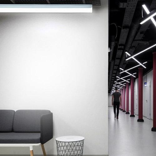 Beleuchtungonline.de LED Unterbauleuchte 60CM - 12W - 4000K - Verlinkbar - Shadowless Serien