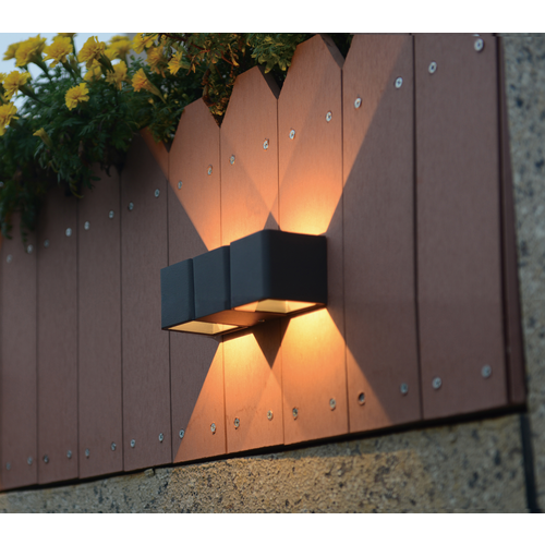 Beleuchtungonline.de LED Wandleuchte - Lisbon - Schwarz