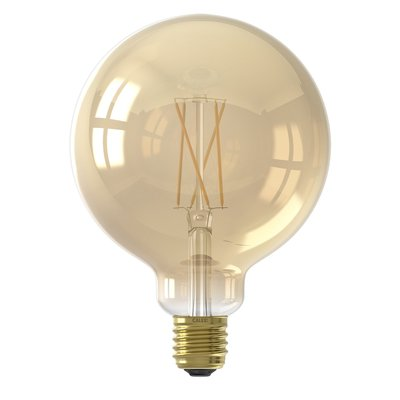 Calex Smart Lampe Gold - E27 - 7W - 806 Lumen – 1800K - 3000K