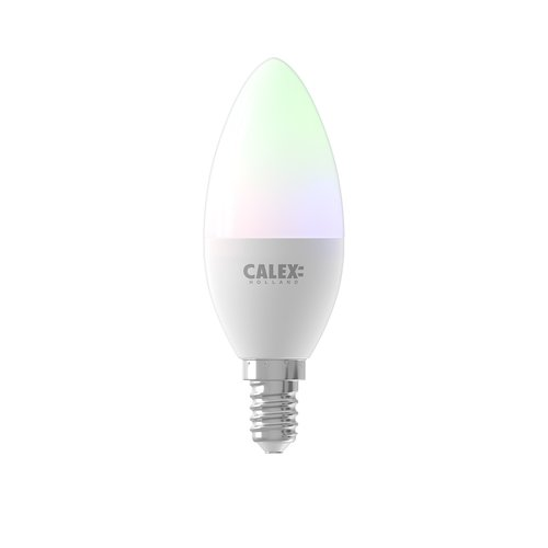 Calex Calex Smart Lampe RGB + CCT - E14 - 5W - 470Lumen – 2200K - 4000K