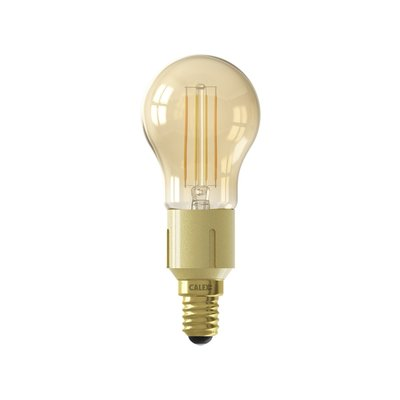 Calex Smart Lampe Gold - E14 - 4.5W - 450Lumen – 1800K - 3000K