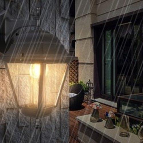 Beleuchtungonline.de Klassische Außenlampe Schwarz - IP44