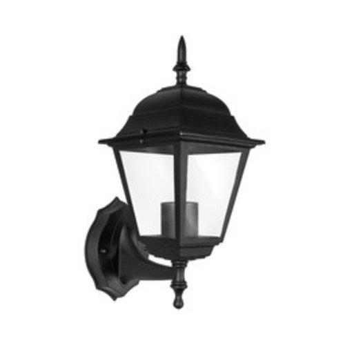 Beleuchtungonline.de Klassische Außenlampe Schwarz - E27