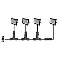Beleuchtungonline.de LED Fluter mit Bewegungssensor 50W - 4.000 Lumen - 4000K