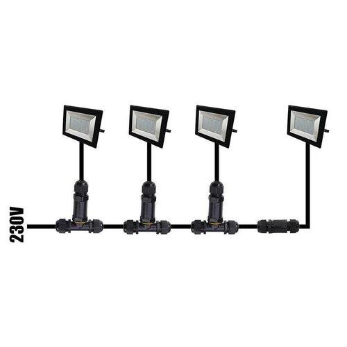 Beleuchtungonline.de LED Fluter mit Bewegungssensor 10W - 800 Lumen - 6500K