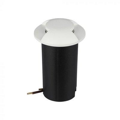 Bodeneinbaustrahler 12V - Weiß - 1W - 10 Lumen - IP67 - 2 Lichter