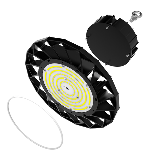 Lightexpert Samsung LED High Bay 100W - IP65 Dimmbar - 160lm/W 6400k -mit 120° Reflektor