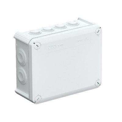 Anschlussdose IP66 spritzwassergeschützt Größe 200x100x70 mm (12 Flexibele Eingangskanäle)