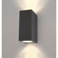 Ledvion LED Wandleuchte - Cube Anthrazit - Beidseitig