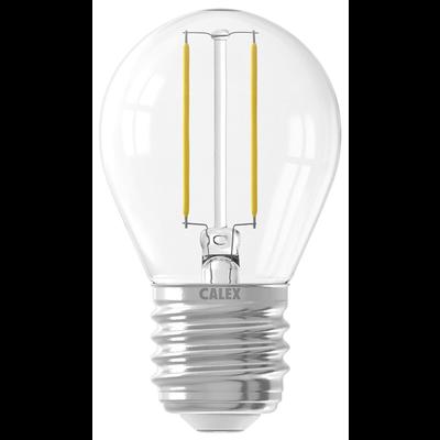 Calex Spherical LED Lamp Filament - E27 - 200 Lm - Zilver
