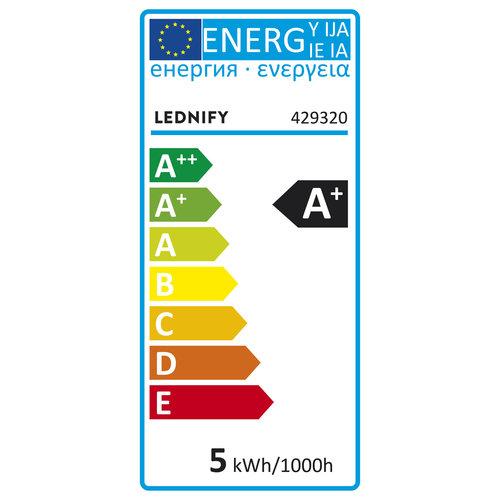 Lednify LEDNIFY WiZ Connected Smart LED Reflektorlampe RGB - GU10 - 5W - 380LM - 2200-6500K