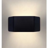 Ledvion LED Wandleuchte Asche Schwarz - 3000K - 9W - IP54