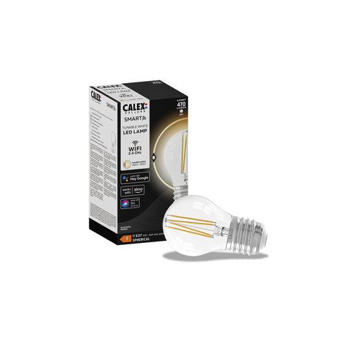 Calex Calex Smart Lampe - E27 - 4.5W - 450Lumen – 1800K - 3000K