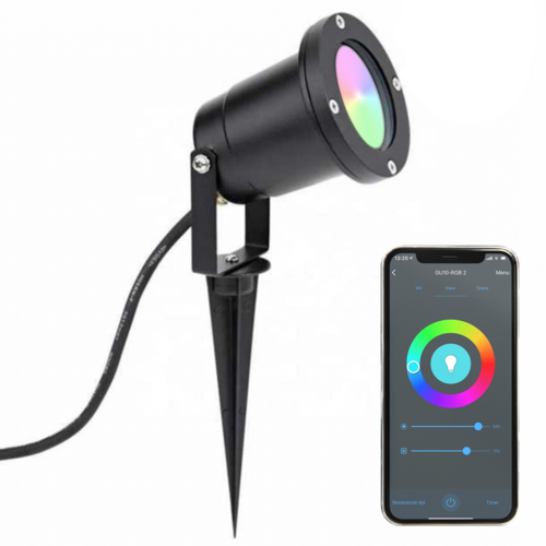 Beleuchtungonline.de SMART LED Gartenstrahler - IP65 - GU10