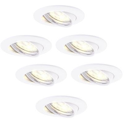 Samsung LED Einbaustrahler Weiß - Dimmbar - 6.5W - 3000K - 6 Pack