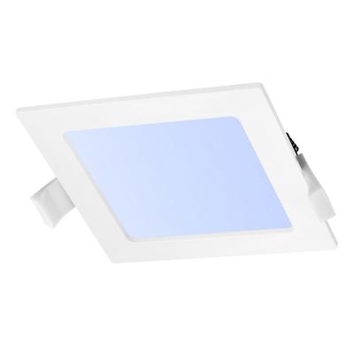 LED Einbauleuchte Quadrat 12W - 6000K - 820 Lumen - Ø165 mm