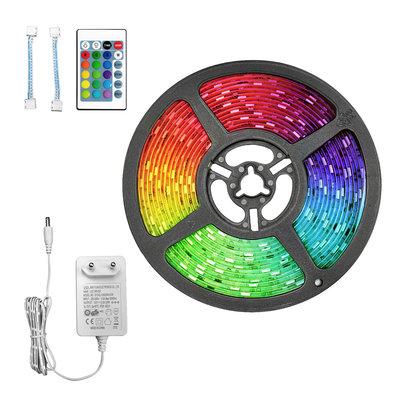 5M LED Streifen RGB+W - Dimmbar - Plug & Play