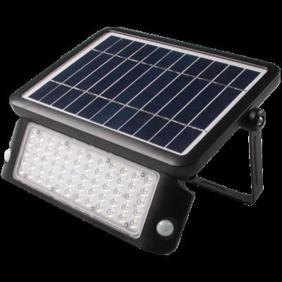 Solar Wandleuchte mit Sensor - Schwarz