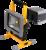 Aufladbar LED Arbeitsscheinwerfer 20W -  Batterielampe - Einstellbare Baustrahler mit Akku - 1500lm - 6500K