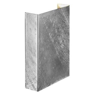 LED Wandleuchte Verzinkt- 2x3,5W - 3000K - Fold 15