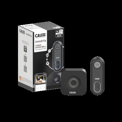 Calex Smart Türklingel mit Kamera - WiFi Video Türklingel - HD - 1080p