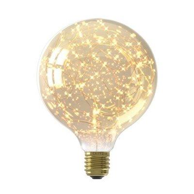 Calex Stars Globe G125 LED Lamp Ø125 - E27 - 80 Lumen - Goud finish