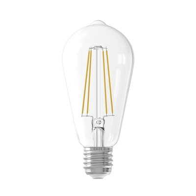 Calex Rustic LED Lampe Warm - E27 - 500 Lm -  Clear