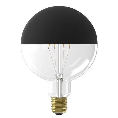 Calex Top Mirror Globe LED Lampe  Ø125 - E27 - 190 Lm - Black
