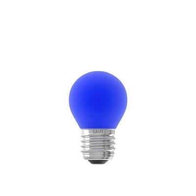 Farbige LED-Kugellampe - Blau - E27 - 1W - 240V