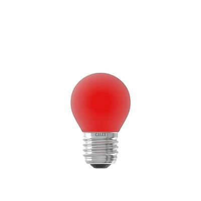 Farbige LED-Kugellampe  - Rot - E27 - 1W - 240V