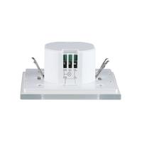 Beleuchtungonline.de Weißer Aufbau Bewegingssensor 180° mit Dämmerungsschalter 15M Reichweite