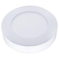 Beleuchtungonline LED Deckenleuchte - Rund - 12W - 750 Lumen - IP20 - 6000K - Weiß -  Ø18 cm