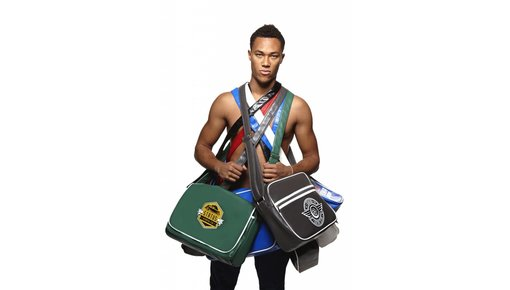 Trendige Premium Messenger Bags im coolen Retro Design.