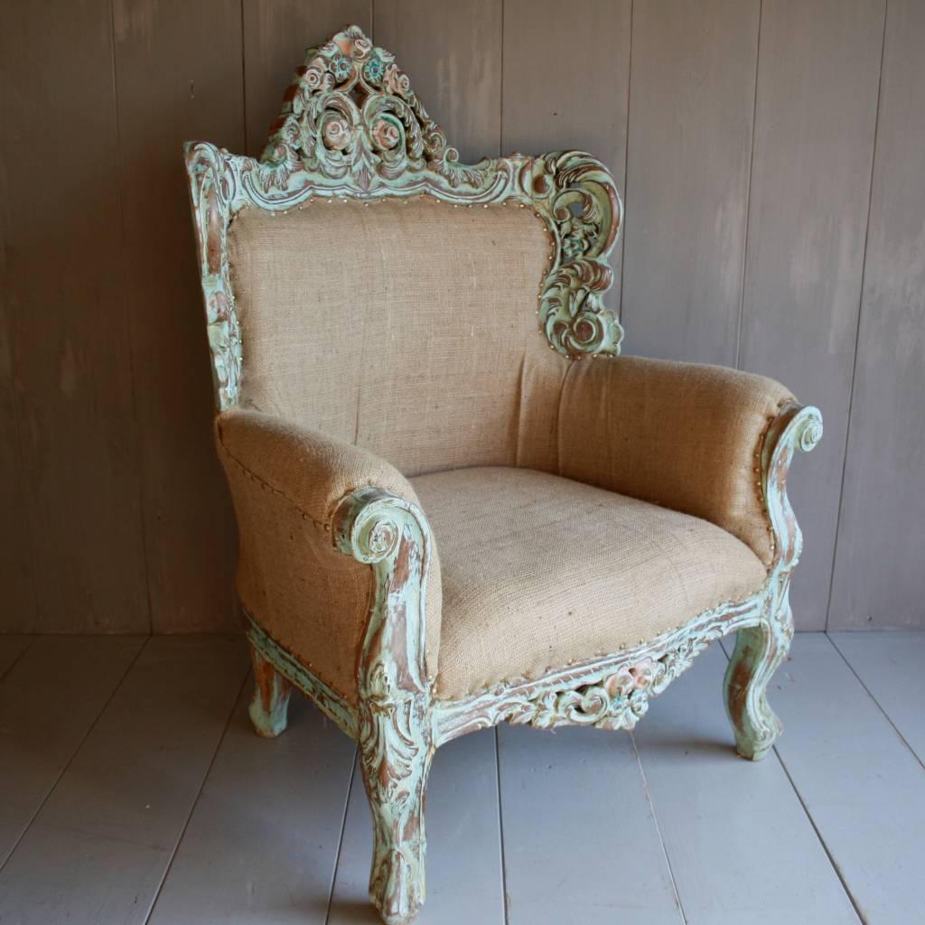 Stoffen fauteuil Ibiza-1