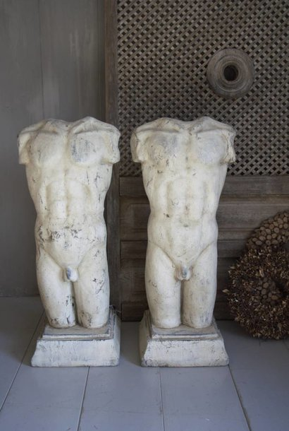 Stenen mannen beeld
