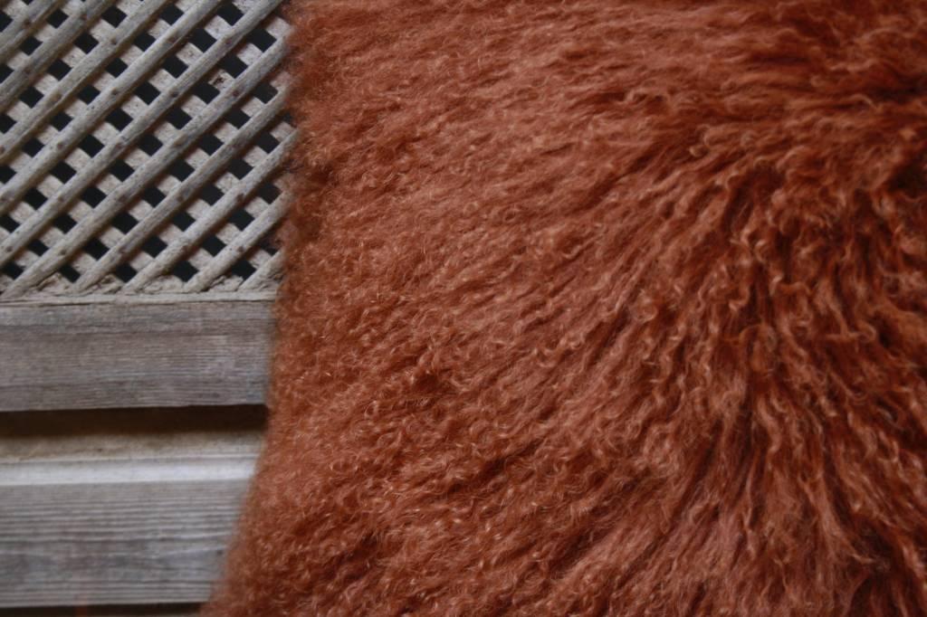 Sierkussen Rood met binnenvulling 45x45cm-3