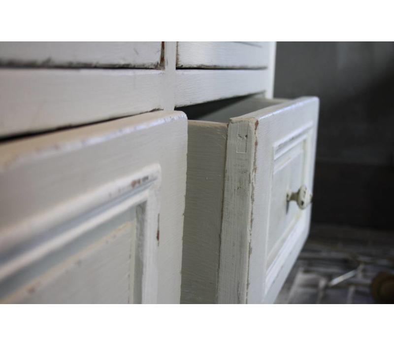 Richa buffetkast wit 242 cm x 49 cm x 235 cm