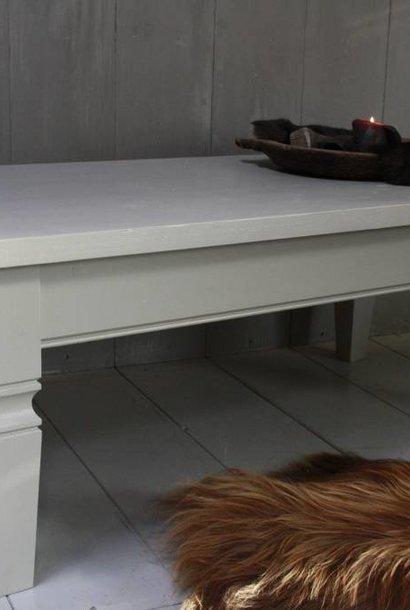 Grijze bijzettafel 130 cm