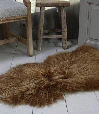 Schapenvacht IJslander geverfd bruin